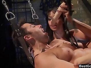 BestGonzo - FemDoms Keeani Lei & Gianna Lynn Peg Their Sex Slave
