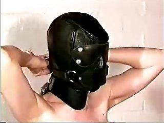 Self-bondage - Black mask