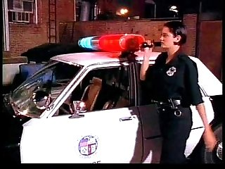 Sexy cop slut with dirty feet moans & groans while being cocked by a hard fucker