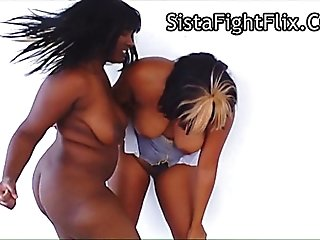 Naked Ebony Catfight Freaks