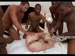 Huge black cocks install inside ass