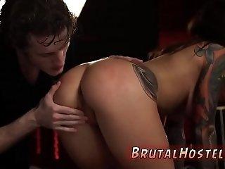 Amateur master slave and insane brutal extreme bondage Excited