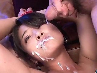 Eririka Katagiri endures rough bondage with hardcore